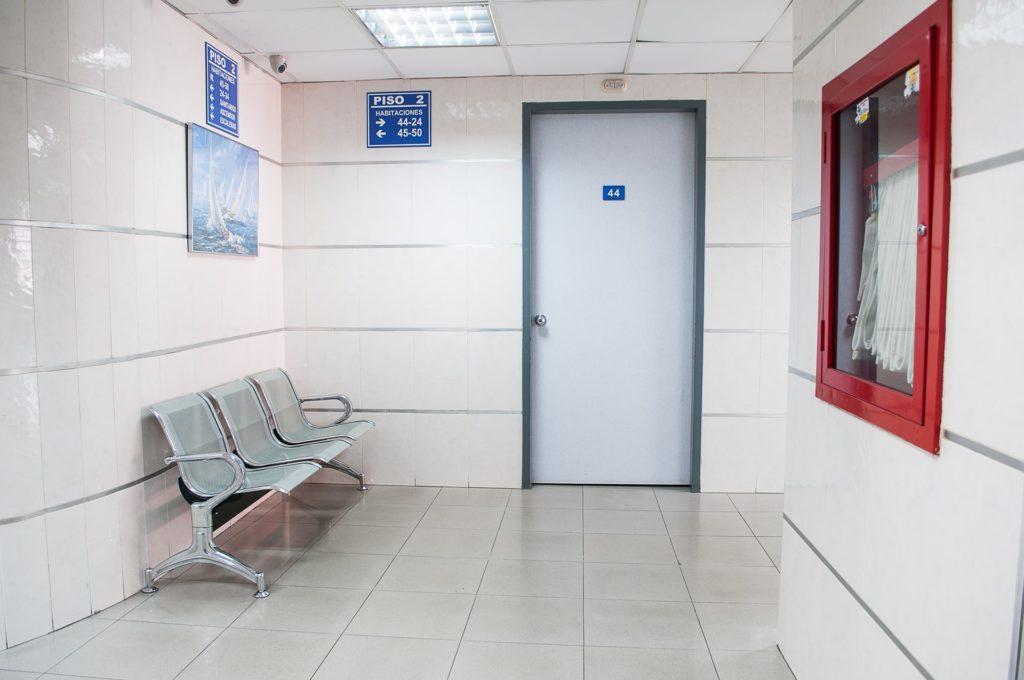 porte hôpital